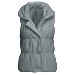 True Grit Pile Puff Vest (For Women)