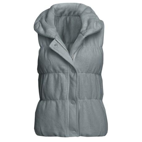 True Grit Pile Puff Vest (For Women)