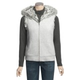 True Grit Snowcapped Hooded Vest - Faux-Fur Lining (For Women)