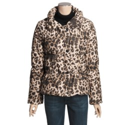 True Grit Printed Puffers Jacket (For Women)