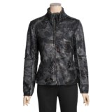 True Grit Embossed Vintage Rose Jacket - Full Zip (For Women)