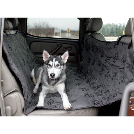 Guardian Gear Paw Print Hammock Car Seat Cover