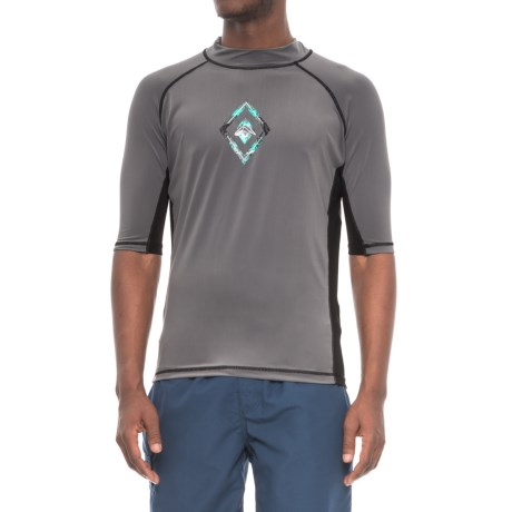 Kanu Surf Porta Rash Guard Shirt - UPF 50+, Short Sleeve (For Men)