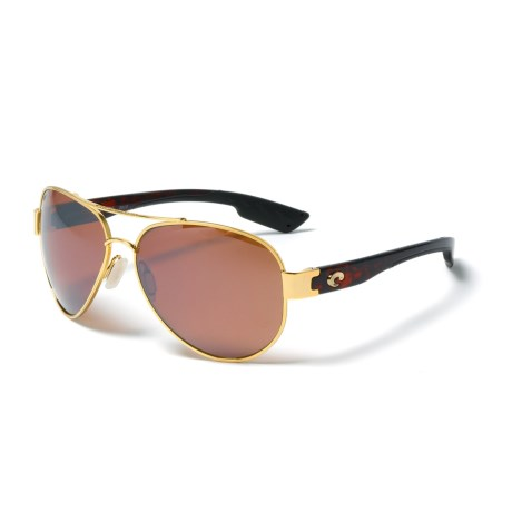 Costa South Point Sunglasses - Polarized 580P Mirror Lenses
