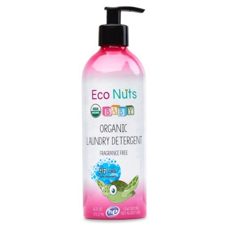 Eco Nuts Baby Organic Liquid Detergent - 96 Loads, Fragrance Free