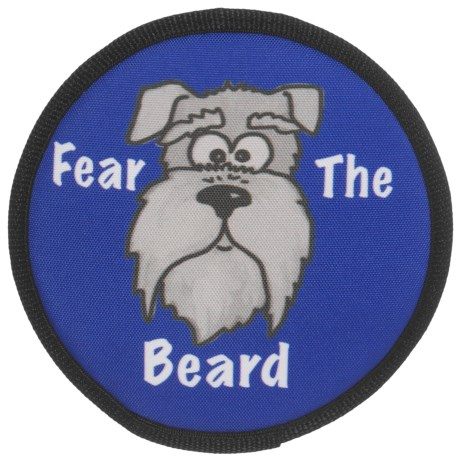 American Dog Fear the Beard Dog Toy - Floatable