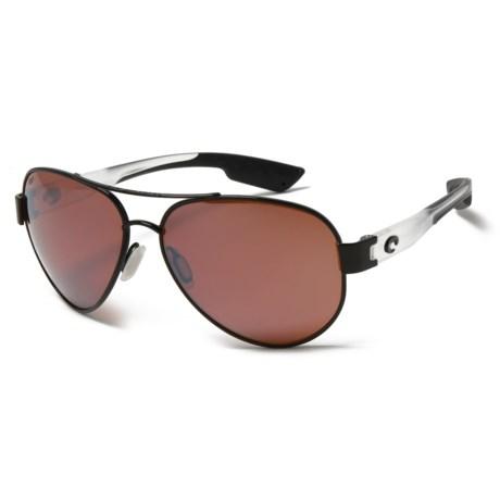 Costa South Point Sunglasses - Polarized 580P Mirror Lenses