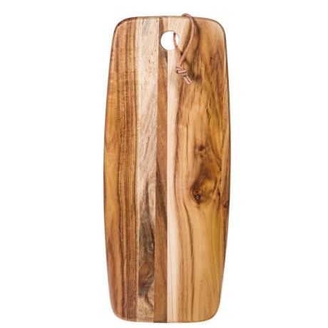 "Home Essentials & Beyond Home Essentials Acacia Oblong Cutting Board - 15"""