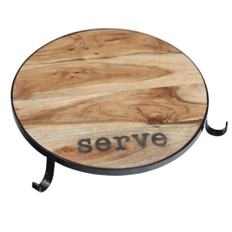 "Home Essentials & Beyond Home Essentials Acacia Wood Serving Board - 15"""