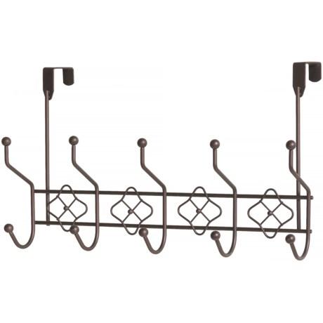 Vanderbilt Home Medallion Over-the-Door Rack - 10 Hooks