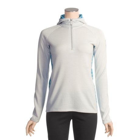 Icebreaker Sport LTD 320 Cornice Shirt - Merino Wool, Hooded, Zip Neck (For Women)