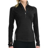 Icebreaker GT 260 Express Shirt - Merino Wool, Zip Neck, Long Sleeve (For Women)