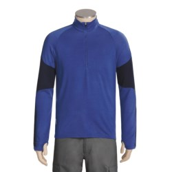 Icebreaker Bodyfit 260 Terrain Shirt - Merino Wool, Zip Neck, Long Sleeve (For Men)
