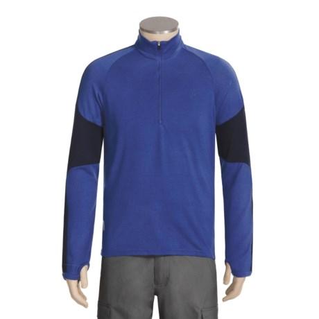 Icebreaker Bodyfit 260 Terrain Shirt - Merino Wool, Zip Neck, Long Sleeve (For Men)
