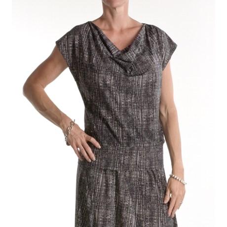 Two Star Dog Marsha Shirt - Travel Knit, Short Sleeve (For Women)
