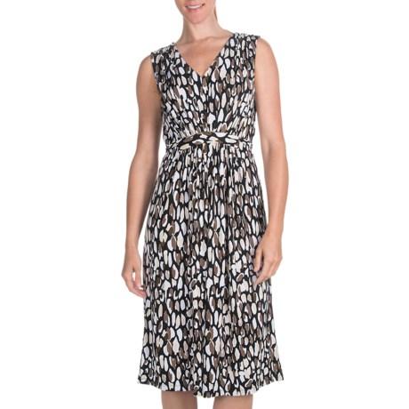 Two Star Dog Nikki Gathered Waist Dress - Travel Knit, Sleeveless (For Women)