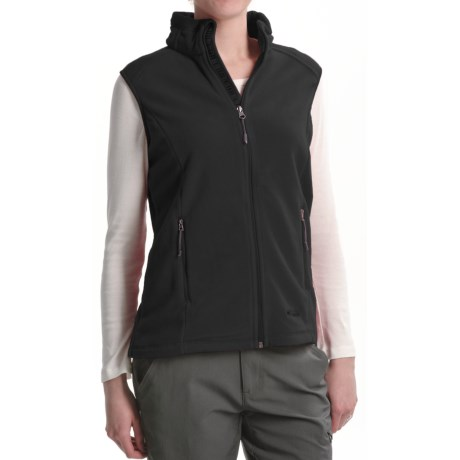 Double Diamond Sportswear Double Diamond by Black Diamond Sportswear Taos Fleece Vest (For Women)