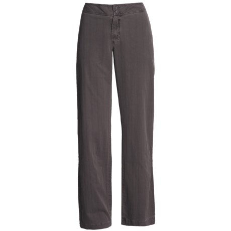 Pulp Pigment-Dyed Stretch Pants - 5-Pocket (For Women)