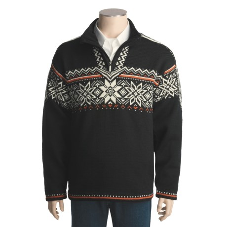 Dale of Norway Stetind Windstopper® Sweater - New Wool, Zip Neck (For Men and Women)