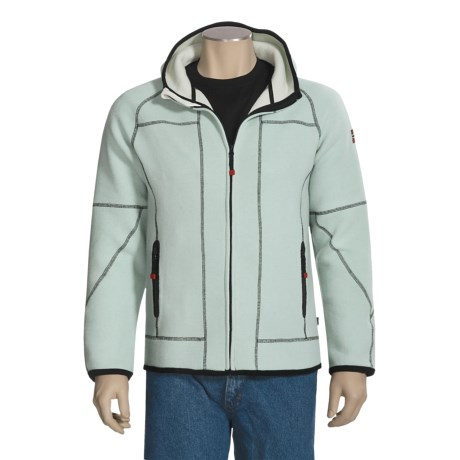 Dale of Norway Hesjavollen Fleece Jacket - Merino Wool, Hooded (For Men)