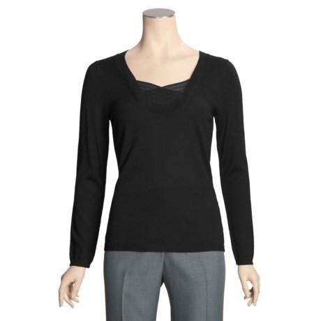 Avalin Silk Accent Sweater - Lightweight (For Women)