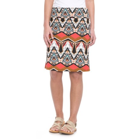 Wrangler Printed Skirt (For Women)