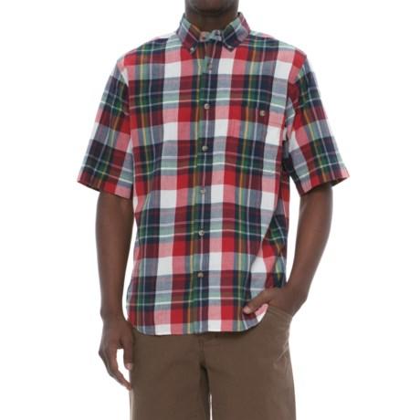 Woolrich Penn's Creek Poplin Shirt - Short Sleeve (For Men)