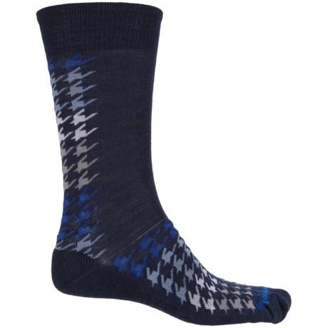 SmartWool Houndstooth Socks - Merino Wool, Crew (For Men)
