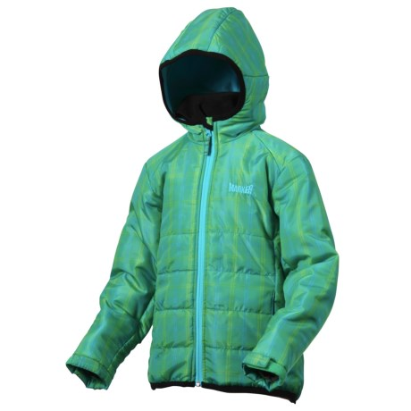 Marker Whirl Quilted Jacket - Insulated (For Girls)