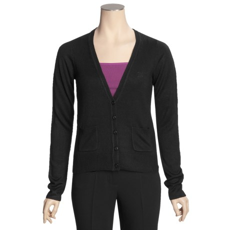 Gina Tricot Elle Cardigan Sweater - V-Neck (For Women)