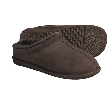 Acorn Bucksport Klog Slippers - Suede Collar (For Men)