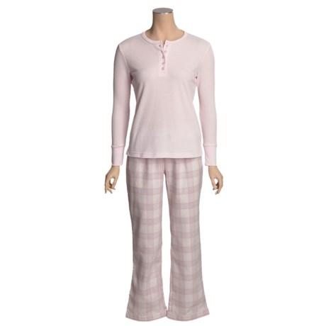 Paddi Murphy Softies Thermal Pajamas - Long Sleeve (For Women)