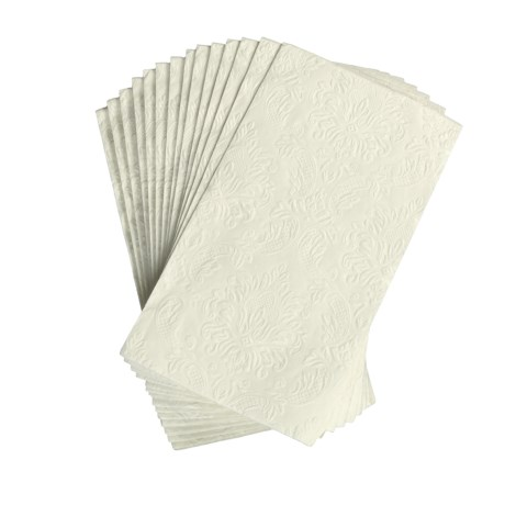 Avanti Linens Embossed Paper Buffet Napkins - Set of 16
