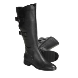 Sanzia Journey Riding Boots - Leather, Adjustable Buckle Shaft (For Women)
