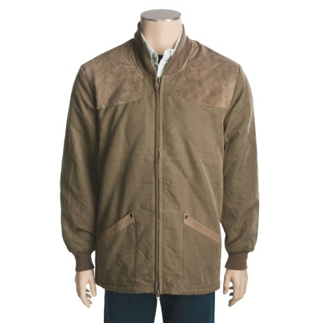 Bob Allen Shooting Coat - Insulated, Suede Panels (For Men)