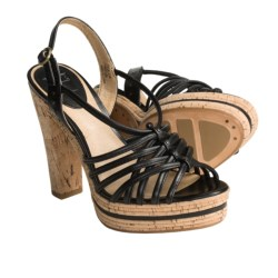 Frye Lena Strappy Sling Sandals - Leather (For Women)