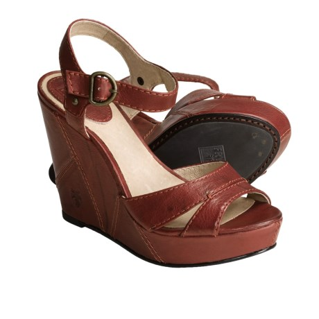 Frye Corrina Campus Wedge Sandals - Leather (For Women)
