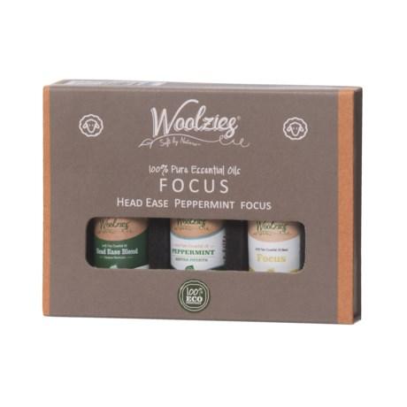 Woolzies Focus Essential Oils - Set of 3