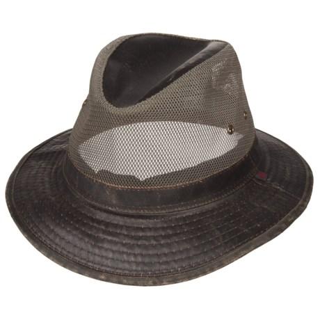 Woolrich Weathered Wide Brim Mesh Safari Hat (For Men)