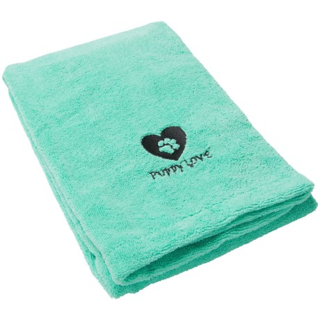 Bone Dry Puppy Love Microfiber Drying Towel - 44x27.5""