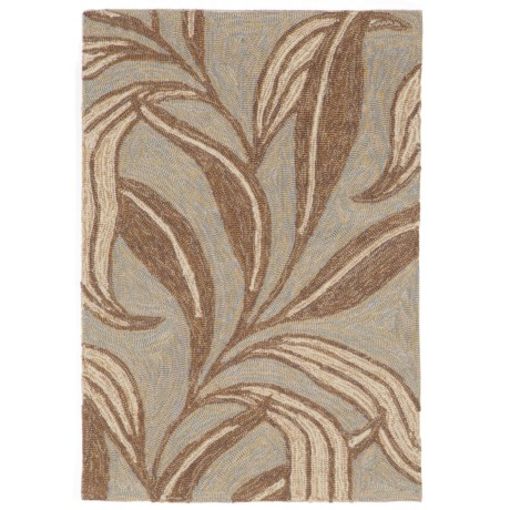 Liora Manné Ravella Leaf Collection Accent Rug - 2x3', Indoor/Outdoor