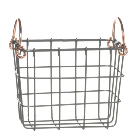 neatfreak! Extra-Small Rectangle Wire Bin - Copper Handle