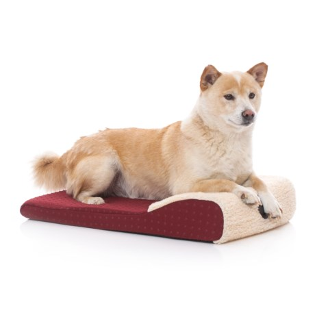 K&H Pet Products K&H Pet Ultra Memory Chaise Lounger Pet Bed - 14x22""