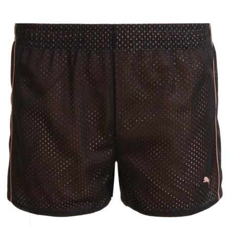 Puma Mesh Shorts (For Little Girls)