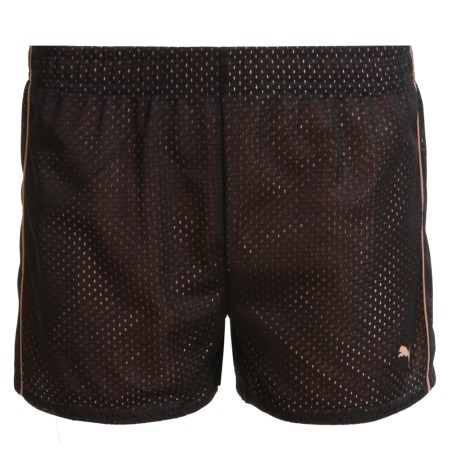 Puma Mesh Shorts (For Big Girls)