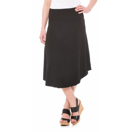 Artisan NY Shirttail Hem Midi Skirt (For Women)
