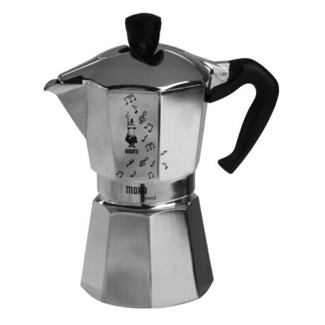 Bialetti Moka Sound Espresso Maker - 12 fl.oz. Capacity