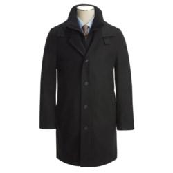 Jacob Siegel Car Coat - Melton Wool (For Men)