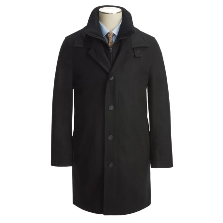 Jacob Siegel Car Coat - Melton Wool (For Men)
