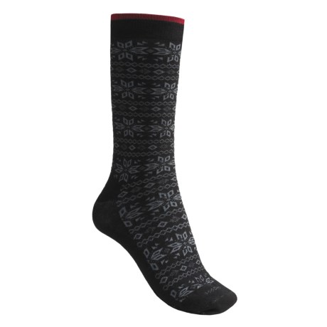 Goodhew Greta Snowflake Socks - Merino Wool (For Women)